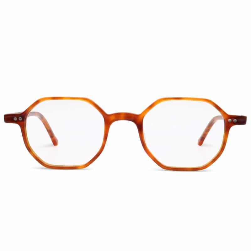Lunettes de vue « Jeff » marrons