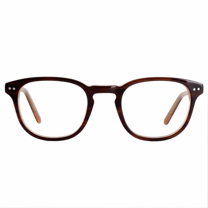Lunettes de vue « Shkoye » marrons