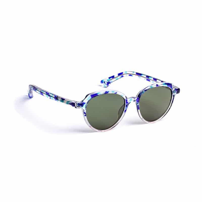 Lunettes de soleil « Bella » bleues