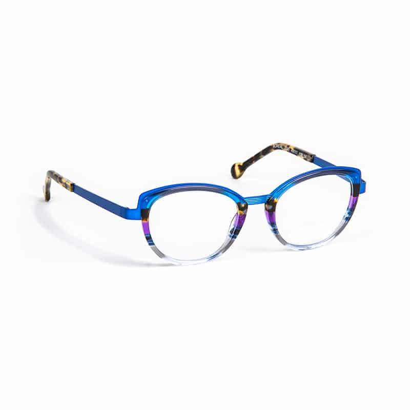 Lunettes de vue « Boreal » bleues