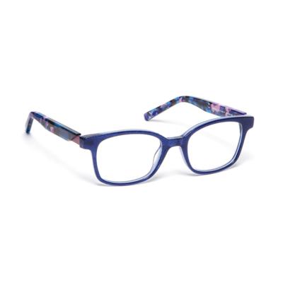 Lunettes de vue « Petale » bleues