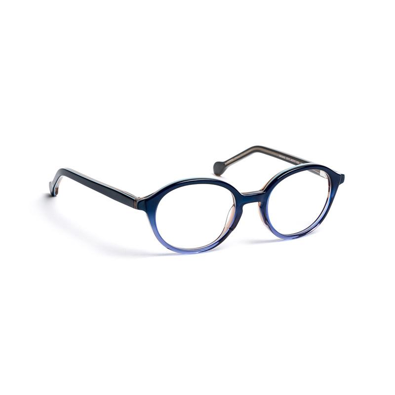 Lunettes de vue « Savane » bleues