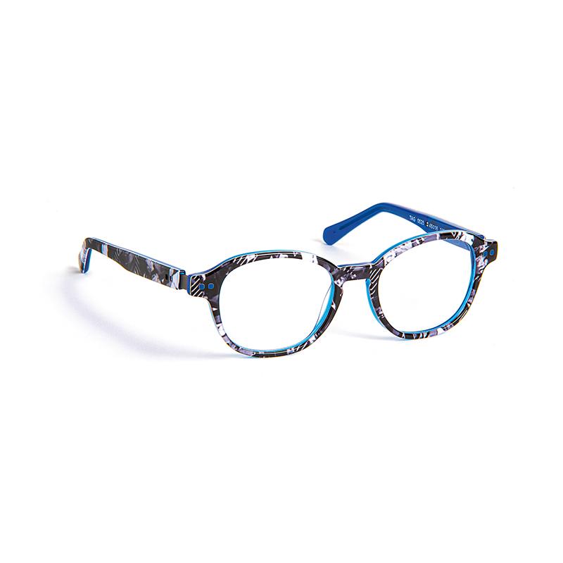 Lunettes de vue « Tag » bleues