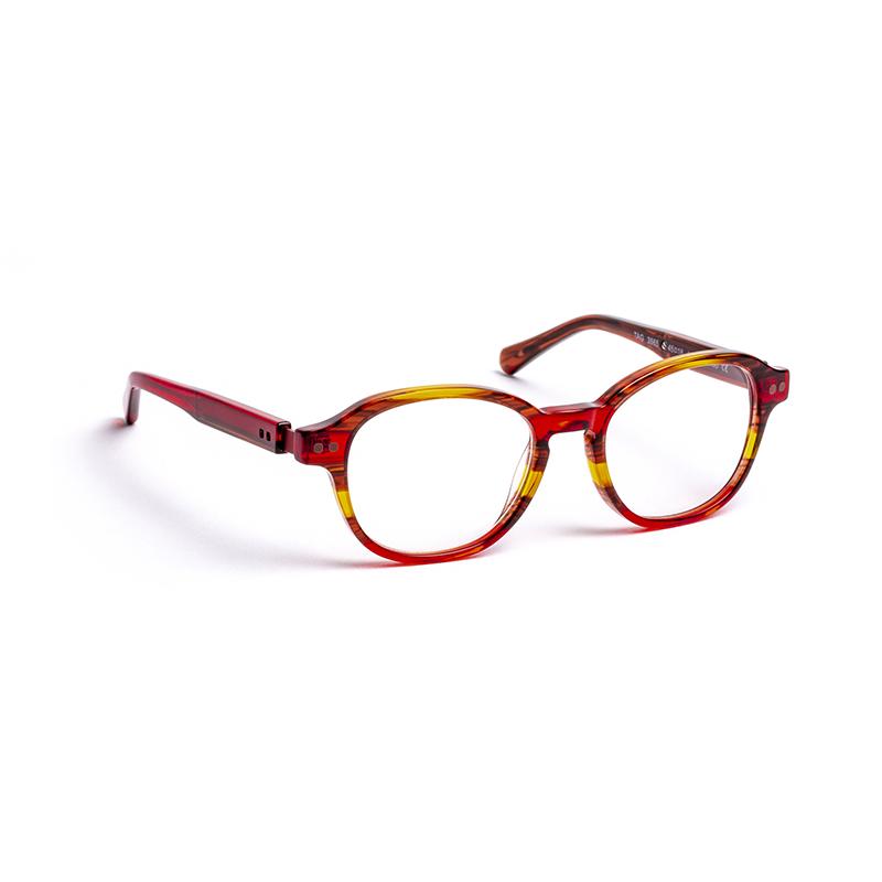 Lunettes de vue « Tag » rouges
