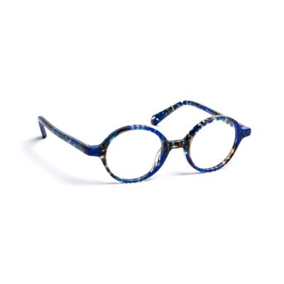 Lunettes de vue « Tipi » bleues