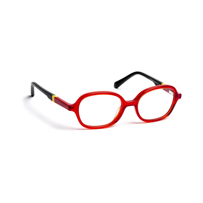 Lunettes de vue « Yupik » rouges