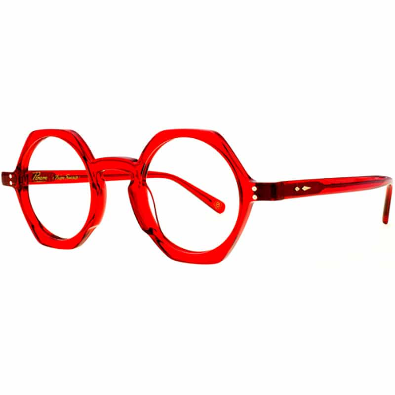Lunettes de vue « Lachaise » rouges