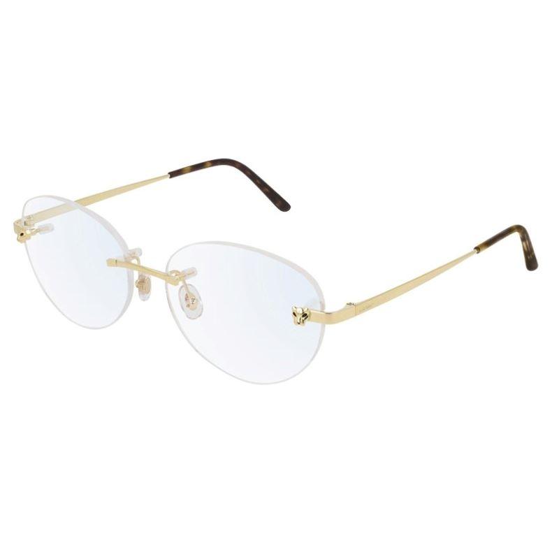 lunettes Cartier or
