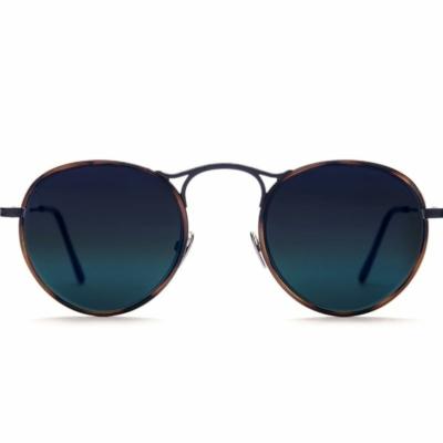 LUNETTES DE SOLEIL « HOWARD SUN 031 BLACK + CARAMEL » NOIRES