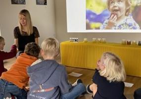 Atelier enfants sur les sens et les illusions d'optique