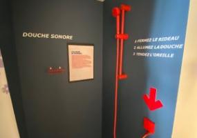 illusion d'optique, musée bordeaux, douche sonore, illusions d'optique