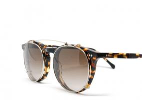 lunettes de vue mixte et clip solaire viveur